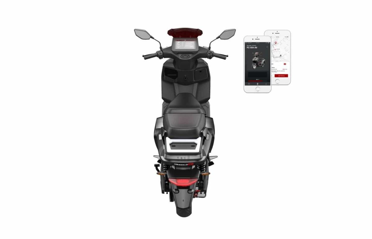 Scooter électrique RedE 2GO