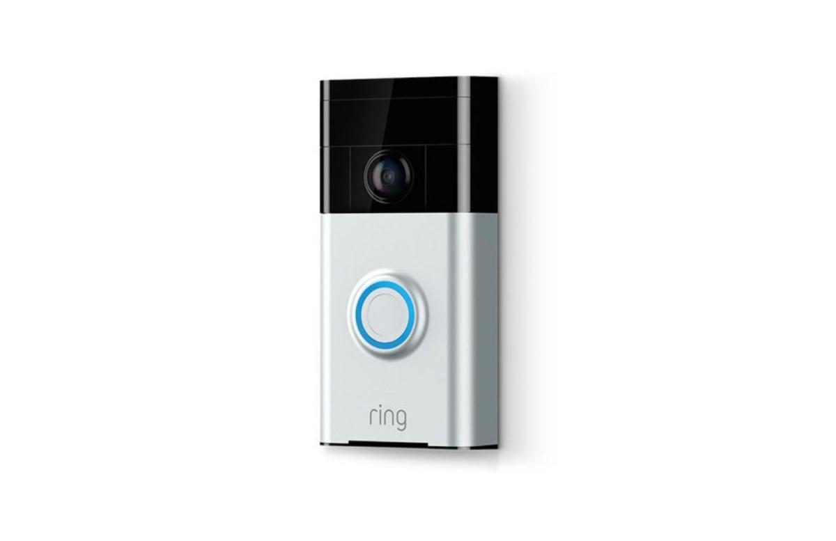 50 % de réduction pour la sonnette connectée Ring Video Doorbell 2