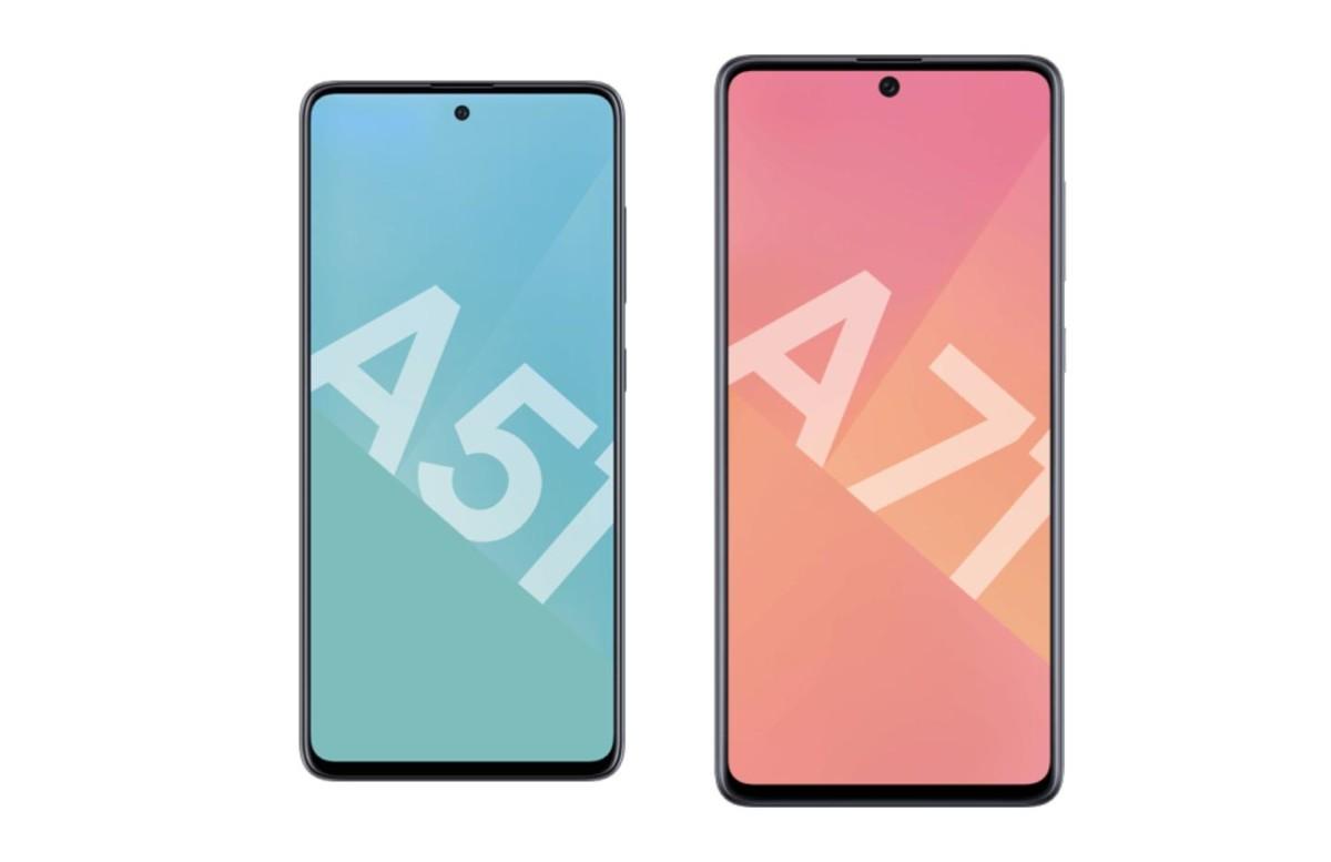 Belle baisse de prix pour les smartphones Samsung Galaxy A51 et A71