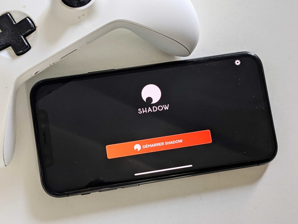 Shadow sur iPhone
