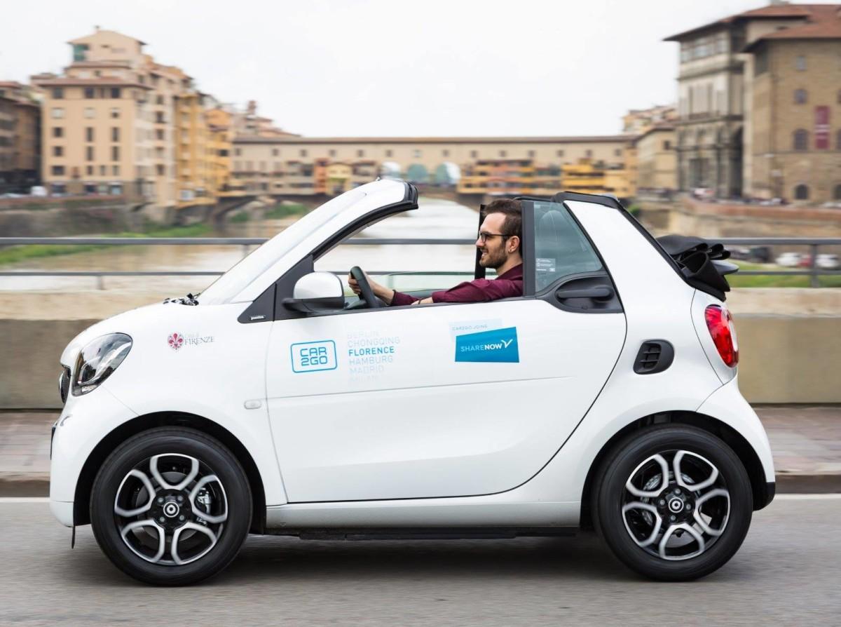 Car2Go a changé de nom en novembre 2019, pour devenir Share Now