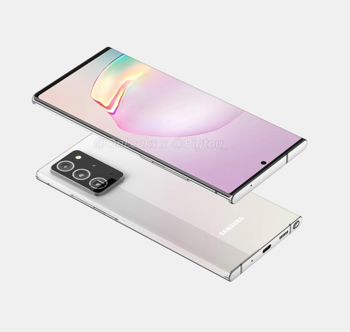 Le Galaxy Note 20 Ultra devrait bien avoir droit à un écran incurvé, contrairement au Note 20