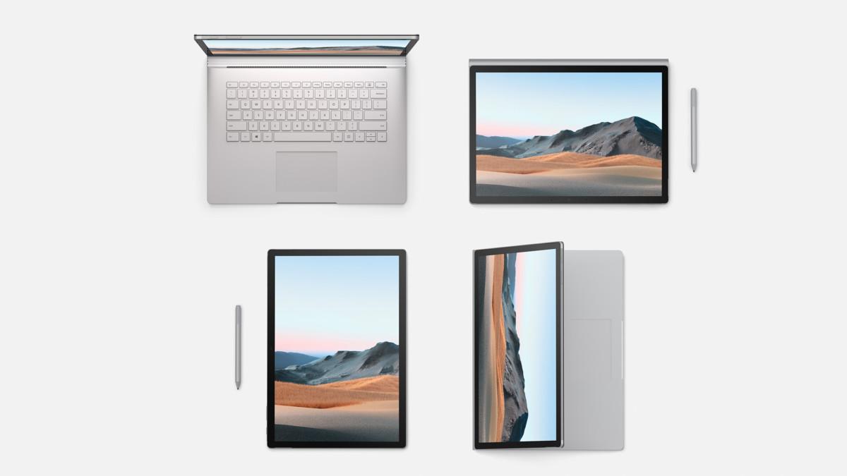 L'usage polyvalent de la Surface Book 3