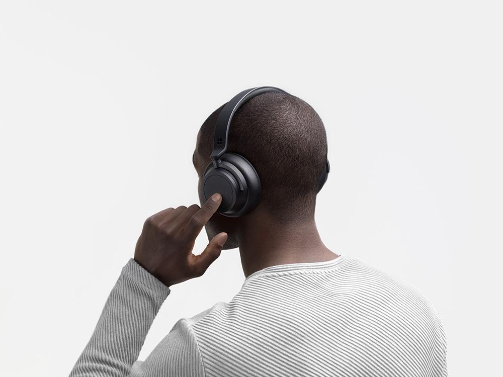 Le Microsoft Surface Headphones 2 offre 13 niveaux d'ajustement pour la réduction de bruit active