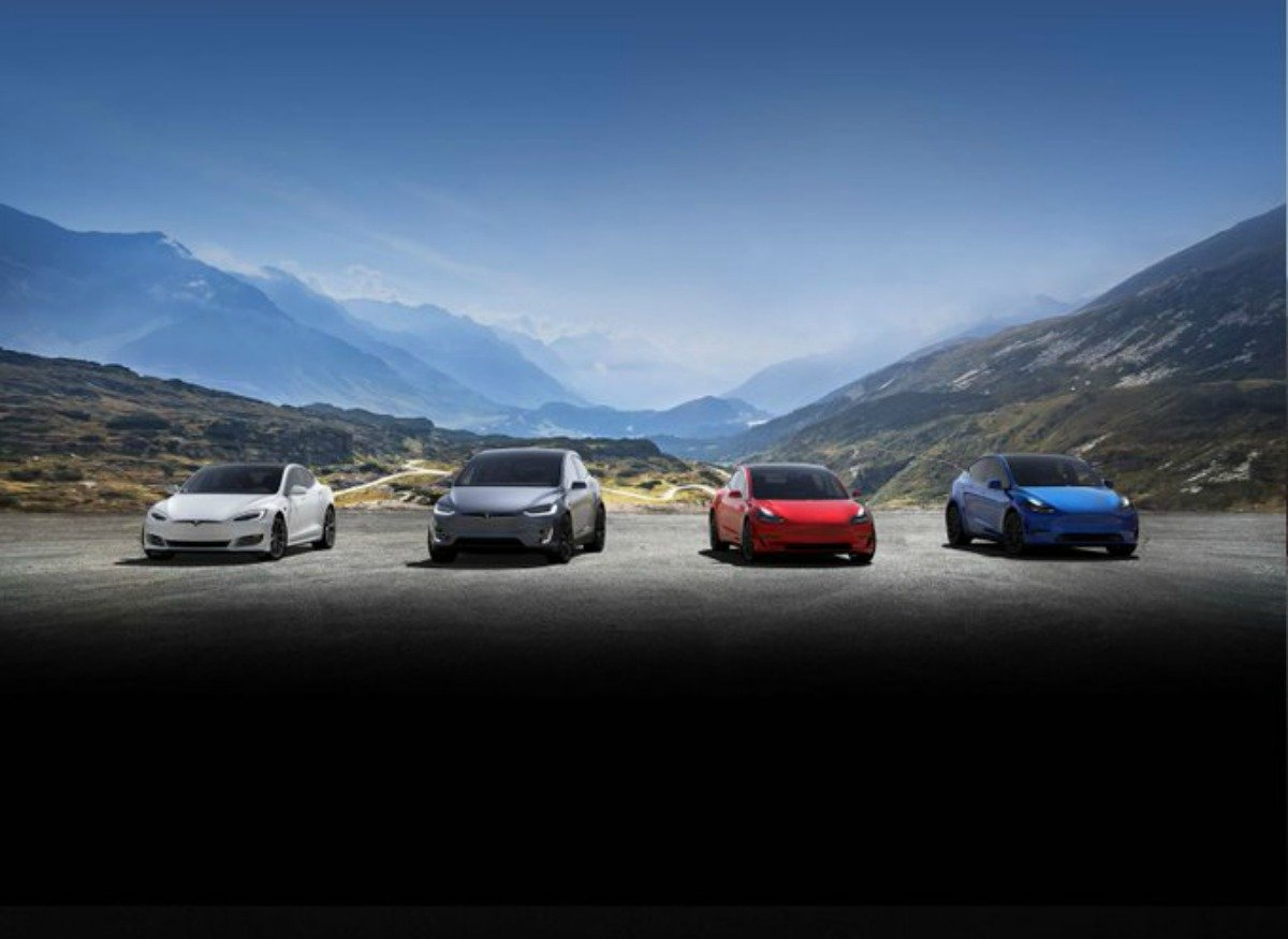 La gamme Tesla