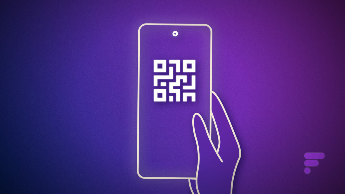 Scanner un QR code sur smartphone