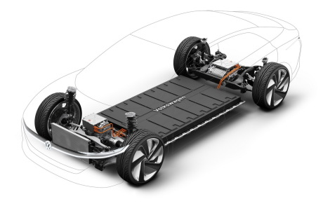 The Volkswagen ID battery pack.  Vision