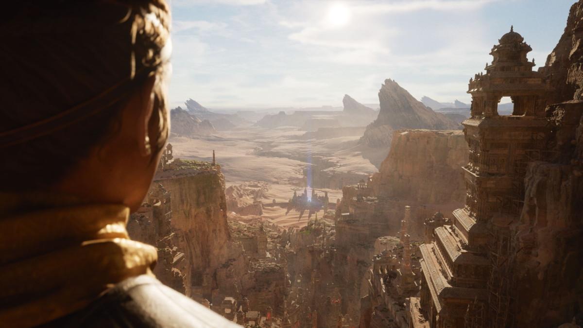 La démo Unreal Engine5 démontre les possibilités de la PS5