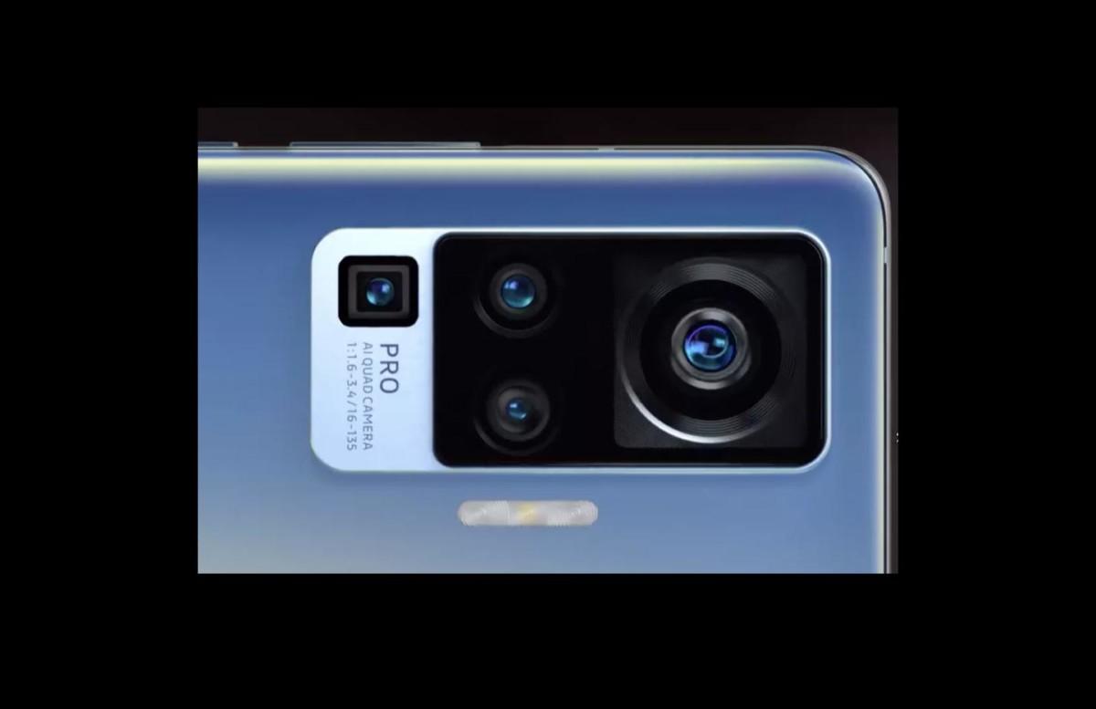 Capture d'une vidéo qui montre le futur module de caméras du smartphone Vivo