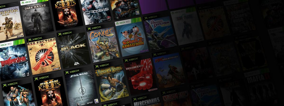 Quelques jeux Xbox déjà rétrocompatibles