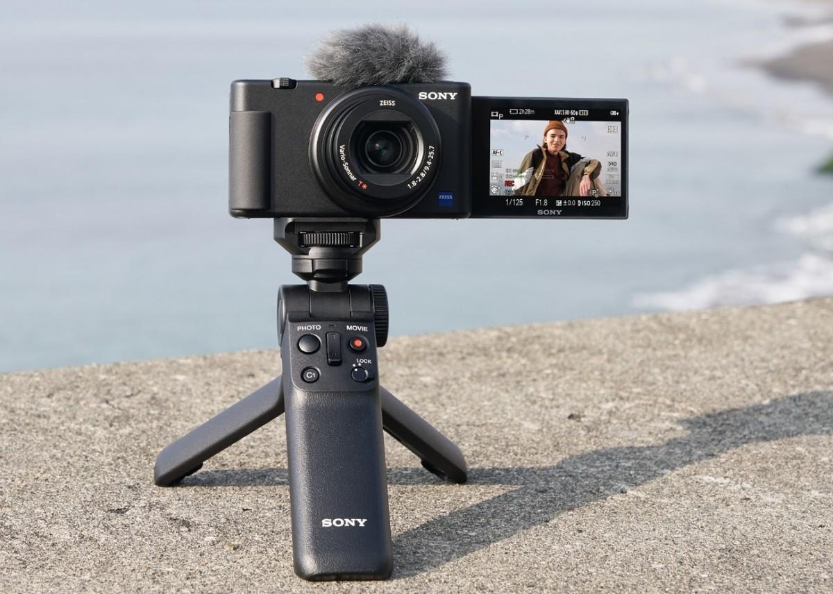 L'appareil Sony ZV-1 peut désormais servir de werbcam