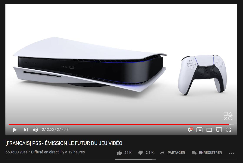 Conférence Sony YouTube