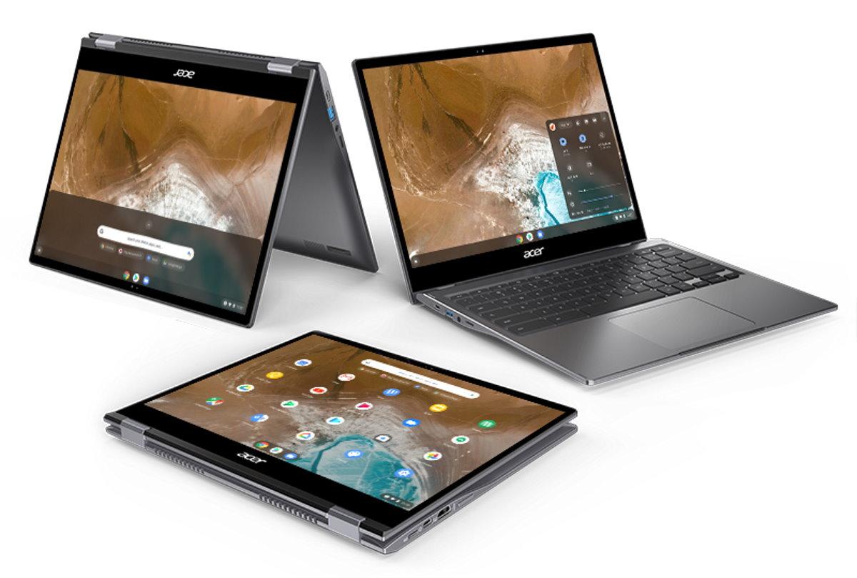 Le Spin713 est convertible en tablette