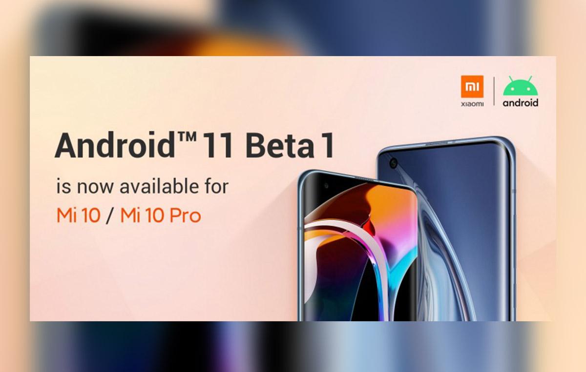 Android 11 sur Xiaomi Mi 10 et Mi 10 Pro