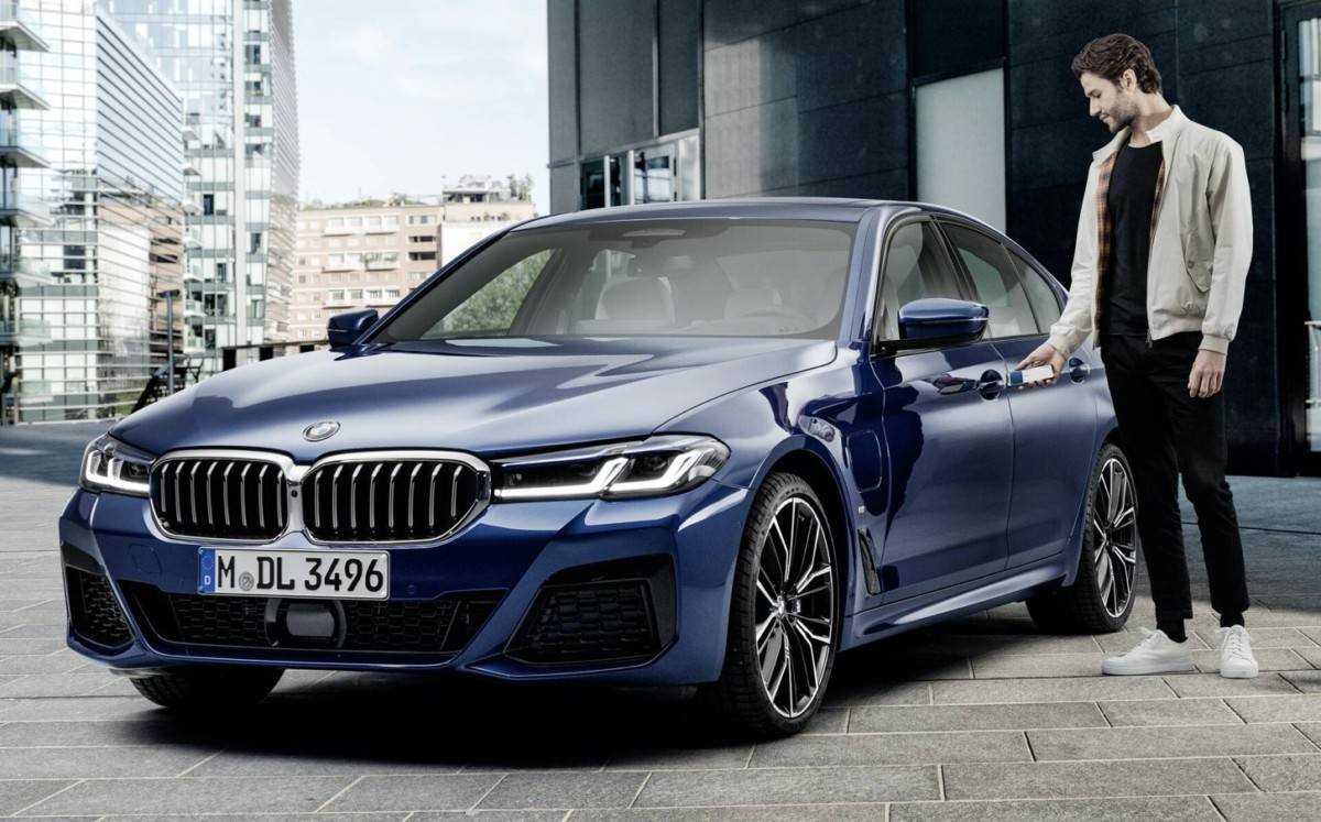 La BMW Série5 2021 sera la première à profiter d'Apple CarKey