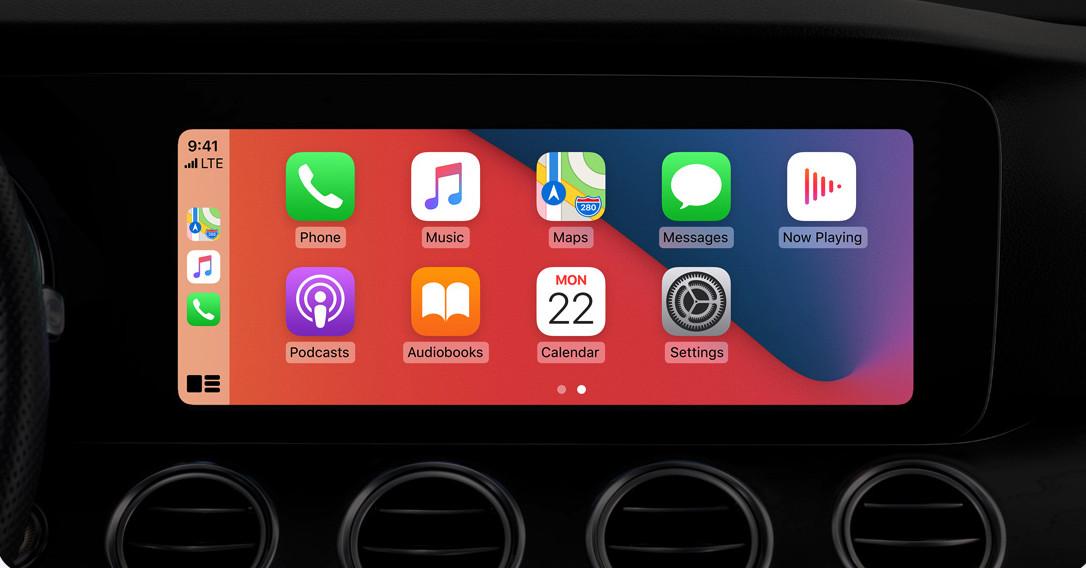 Les fonds d'écrans personnalisés arrivent sur Apple CarPlay
