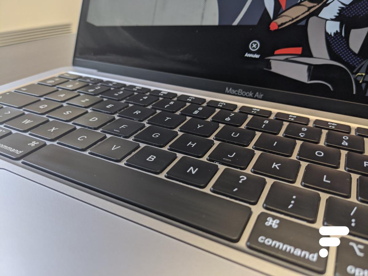 Clavier du MacBook Air2020