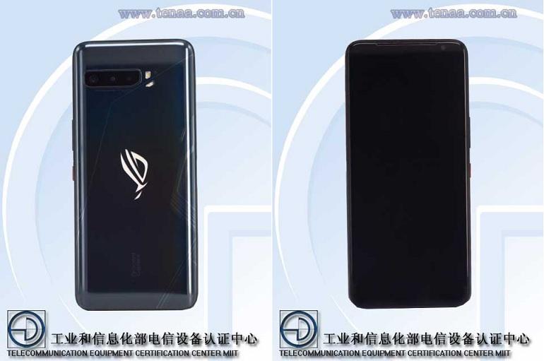 Les premières images de l'Asus ROG Phone 3