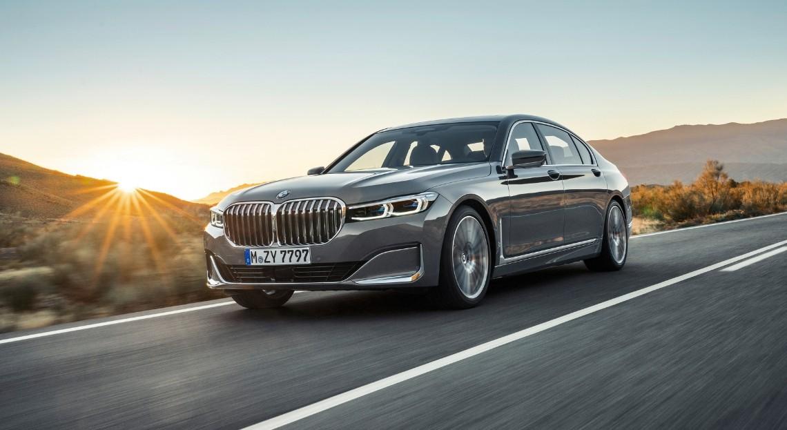 La BMW Série 7 telle que nous la connaissons actuellement.