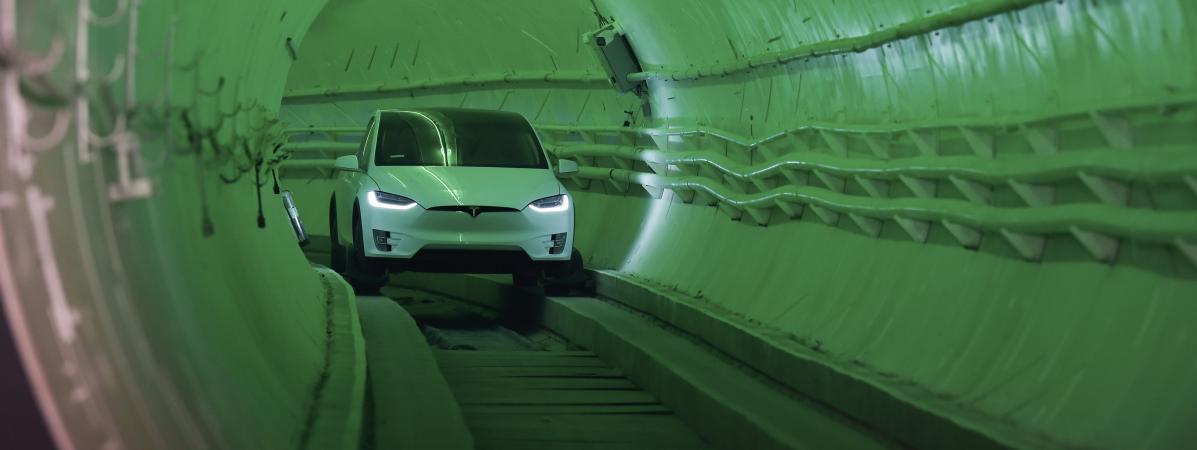 Boring Company a déjà achevé la construction d'un second tunnel à Las Vegas