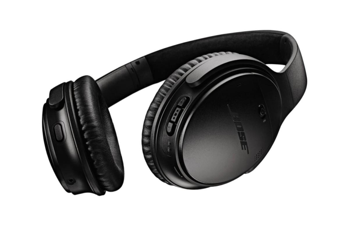 Le casque Bose QuietComfort 35 II dans son coloris noir