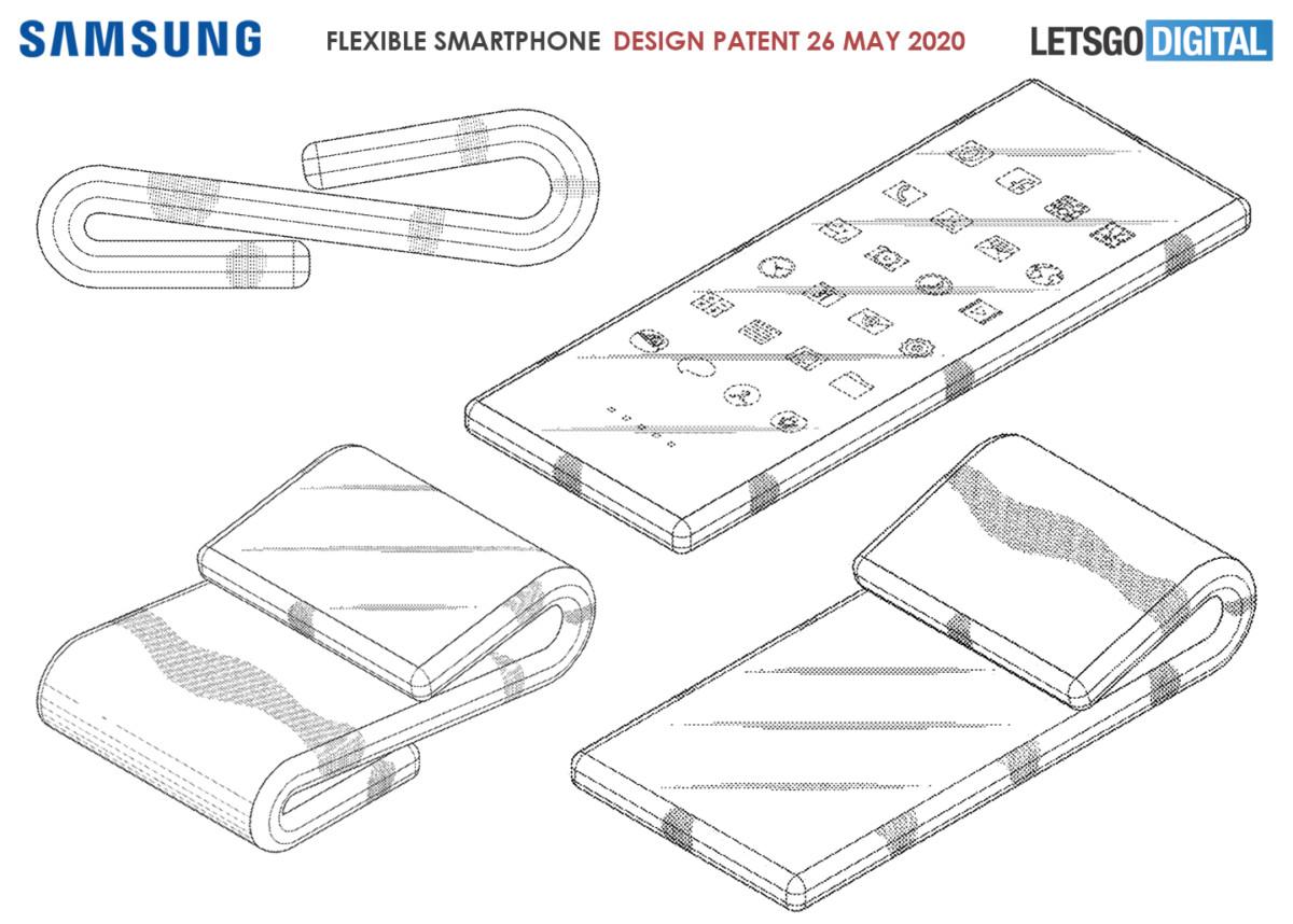 Schémas du brevet Samsung