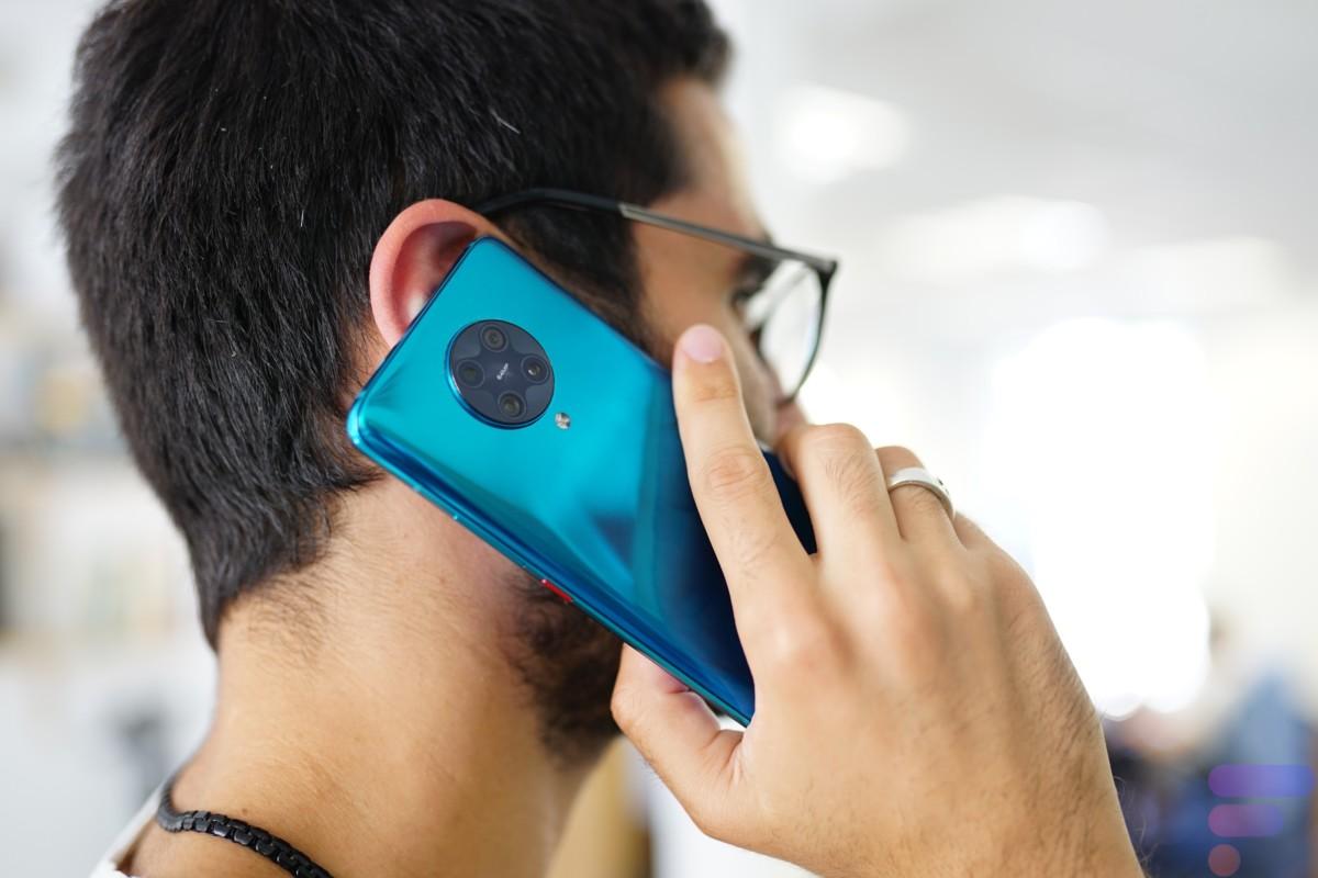 Appel avec le Xiaomi Poco F2 Pro