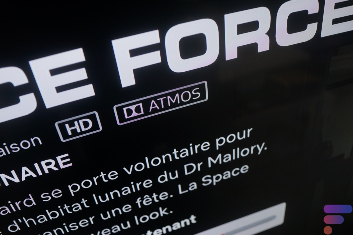 Le logo Atmos apparaît sur Netflix, ça marche !