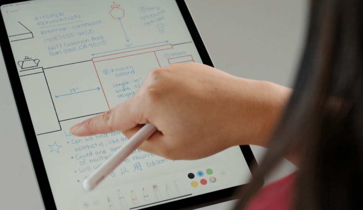 Handwriting recognition on iPadOS 14