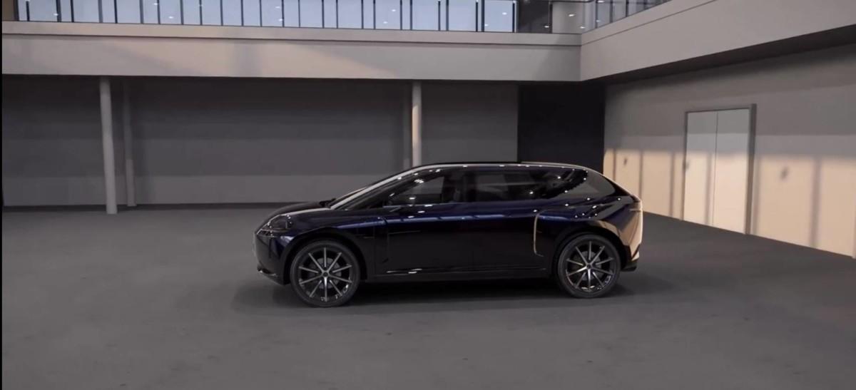 Le prototype de SUV électrique