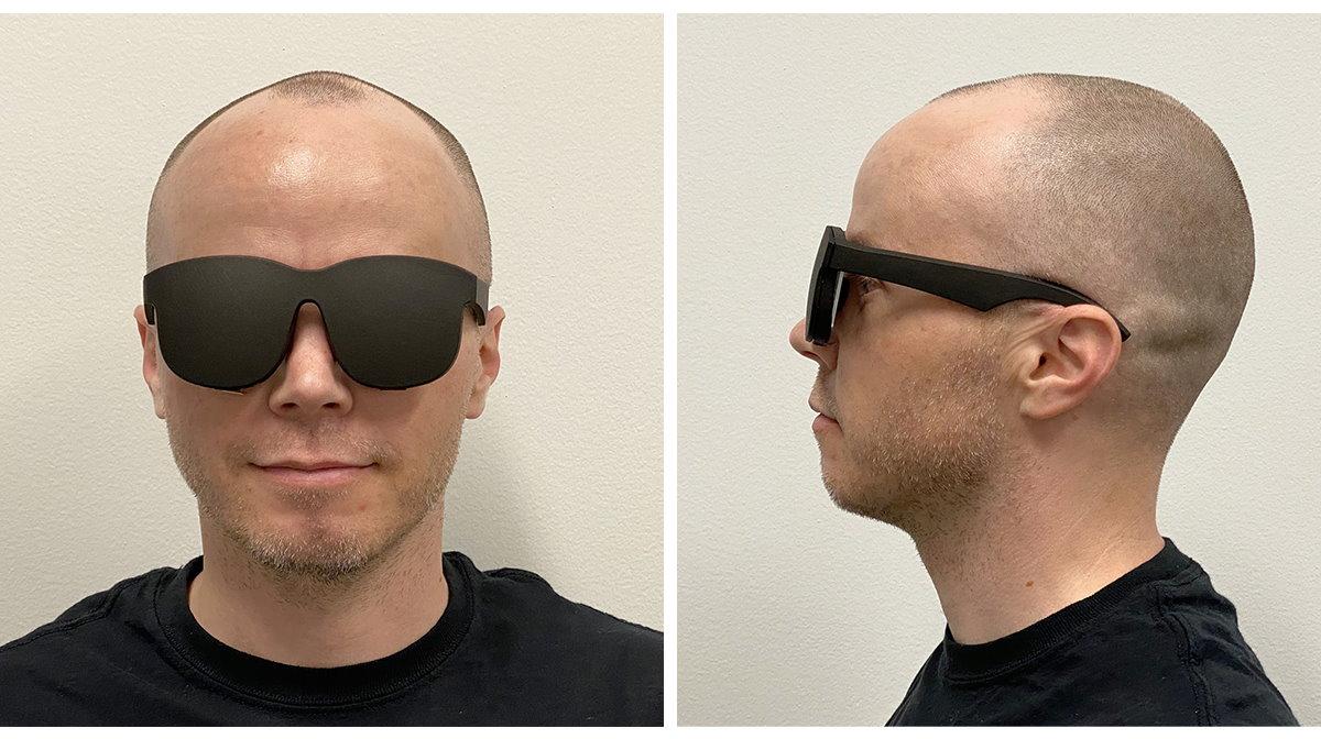 C'est vraiment plus compact qu'un casque de VR