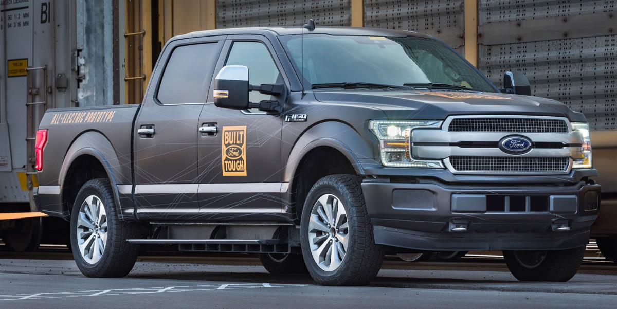 Ford pick-up électrique