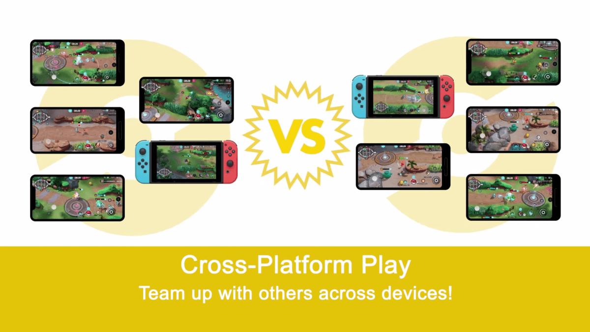 Pokémon Unite se joue sur smartphone ou Nintendo Switch