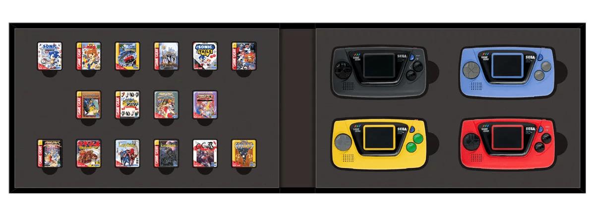 Le coffret collector Game Gear Micro