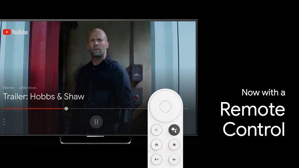 La télécommande qui accompagne le dongle TV