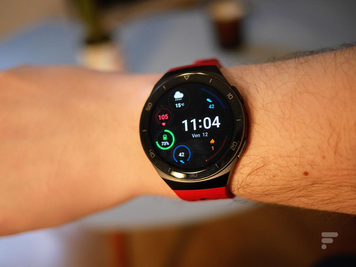 Le design de la Huawei Watch GT 2e