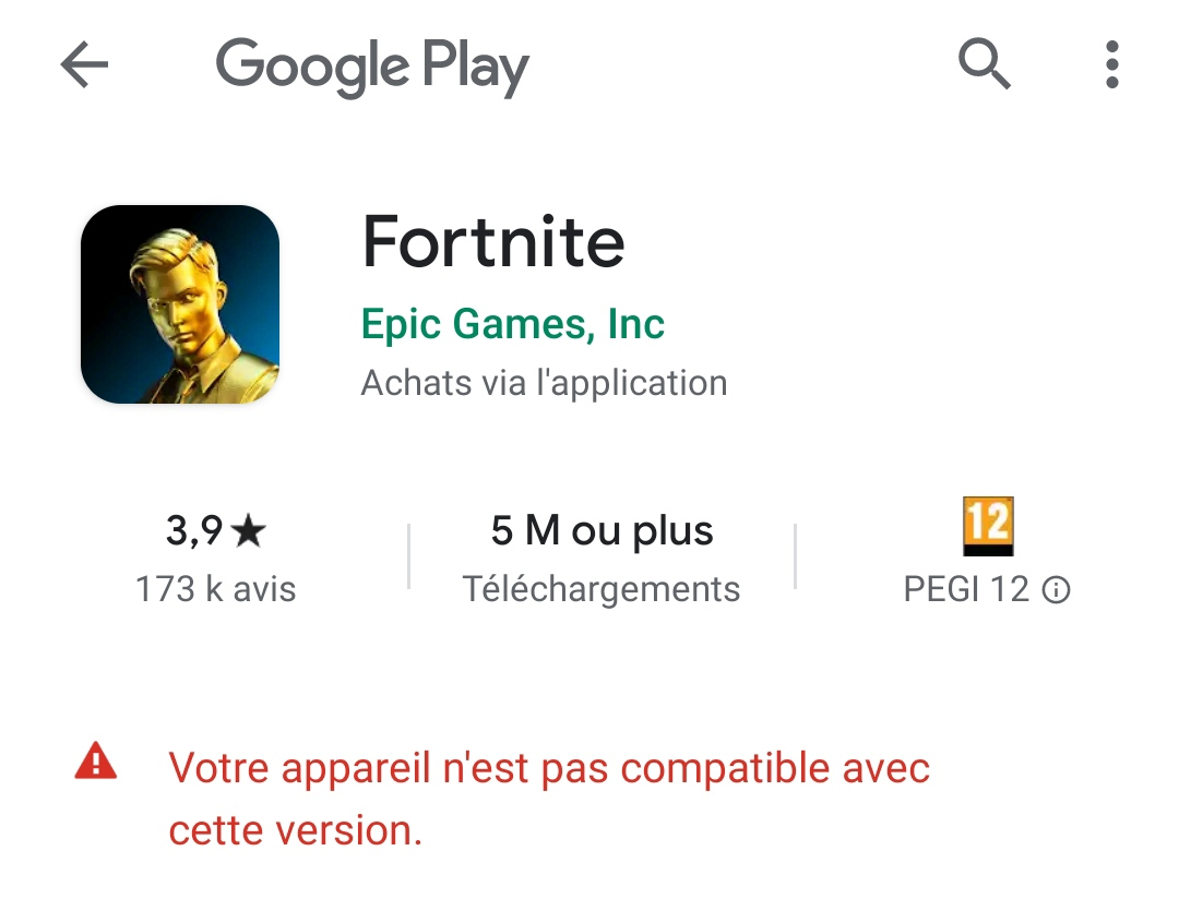 Fortnite Xiaomi Redmi Note 9