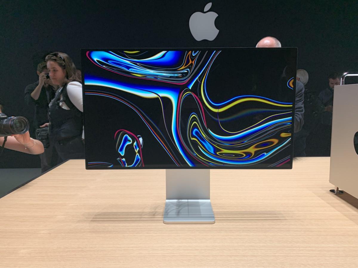L'écran Pro Display XDR d'Apple présenté lors de la WWDC 2019