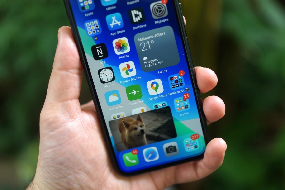 iOS14 avec ses widgets et son mode PiP