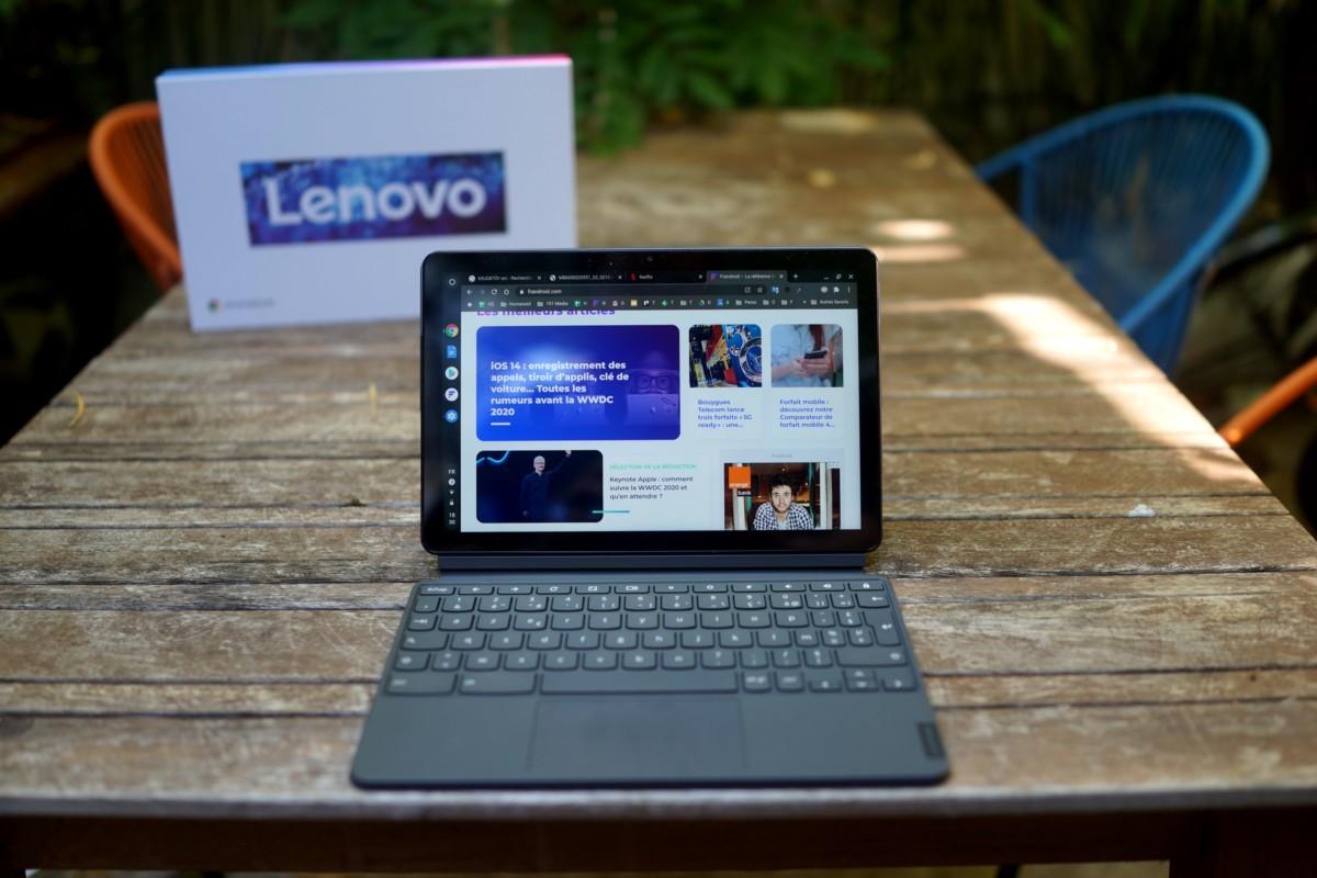 Lenovo IdeaPad Duet // Frandroid