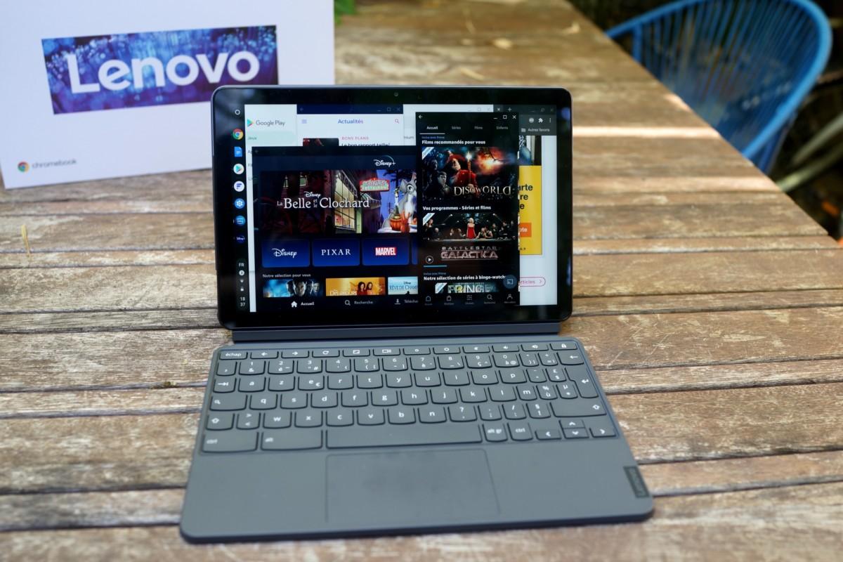 Lenovo Duet : un Chromebook 2-en-1 sous la barre des 300 euros