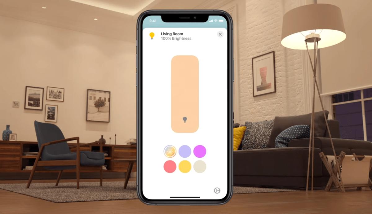 La gestion automatique de la température de la lumière sur Apple Home