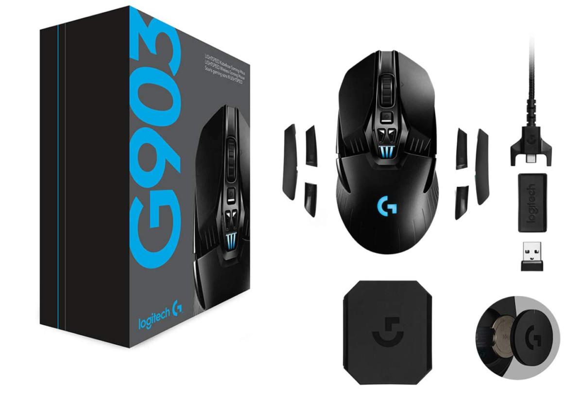 La souris sans fil Logitech G903 Lightspeed est à moins de 100 euros