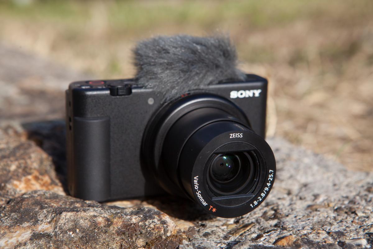 L'objectif du Sony ZV-1 // crédit : Olivier Gonin