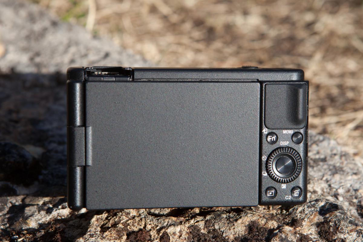 L'écran masqué du Sony ZV-1
