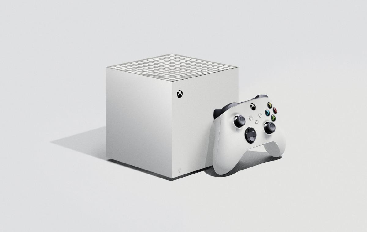 C'est un joli concept, mais la Xbox Series S ne ressemblerait pas à ça