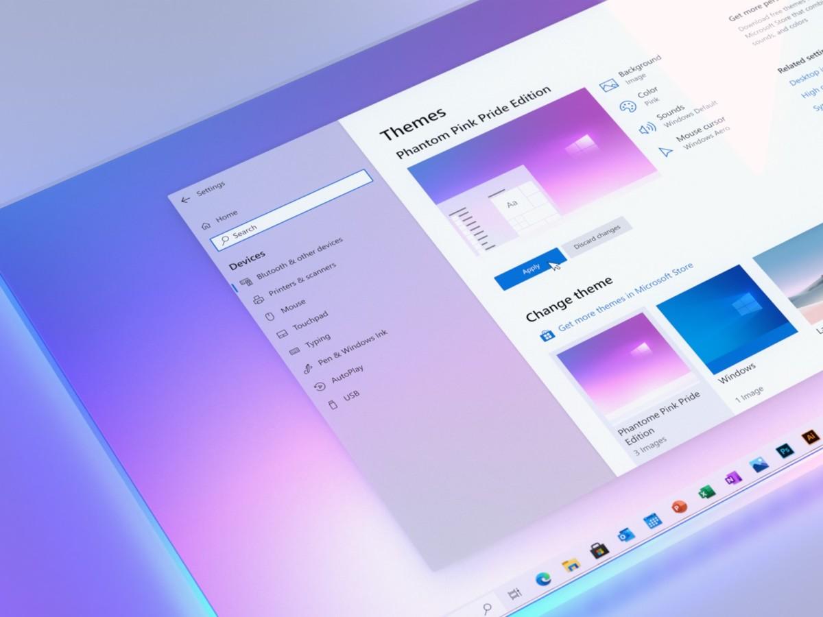 Windows 10 : la nouvelle interface Sun Valley apparaît un peu plus