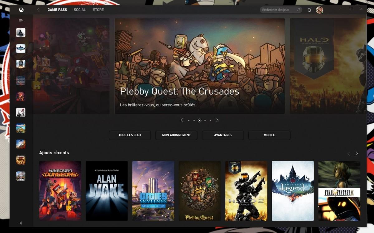 L'application Xbox autorise désormais les mods