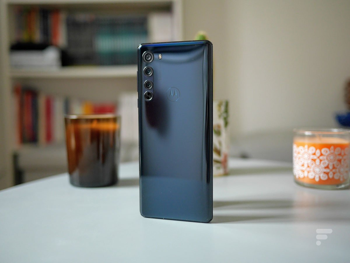 Le dos du Motorola Edge