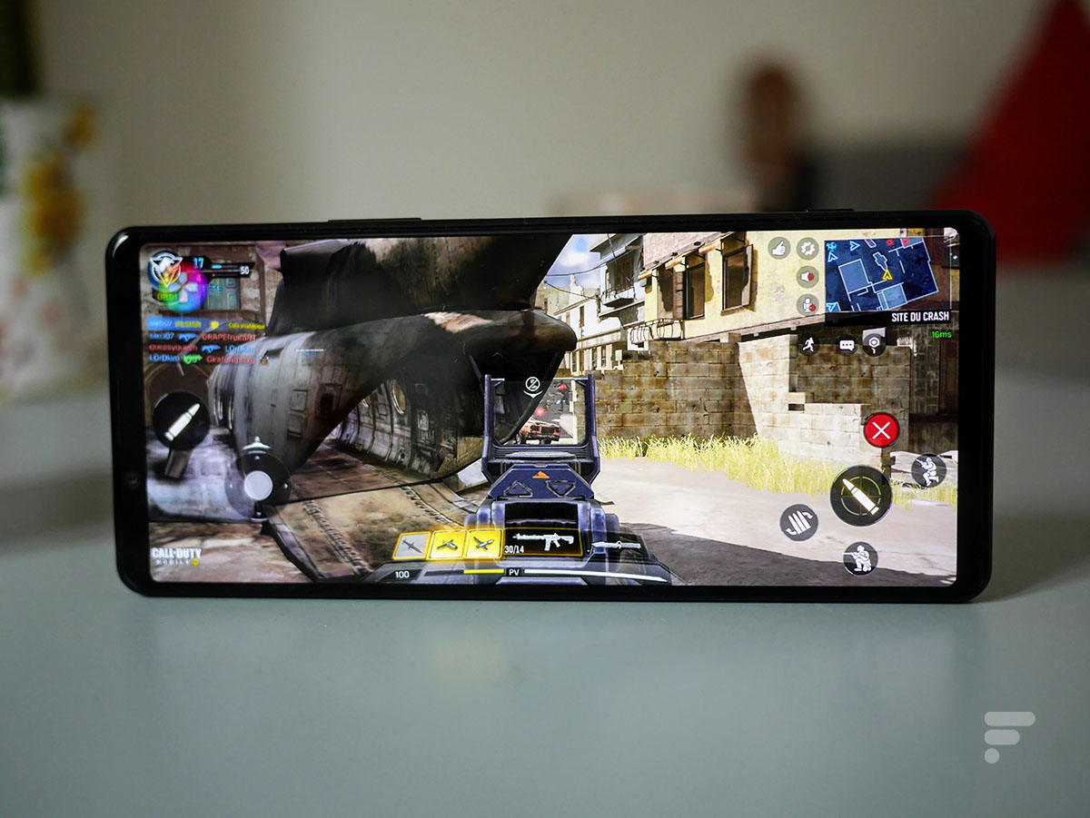 Call of Duty Mobile sur le Sony Xperia 1 II